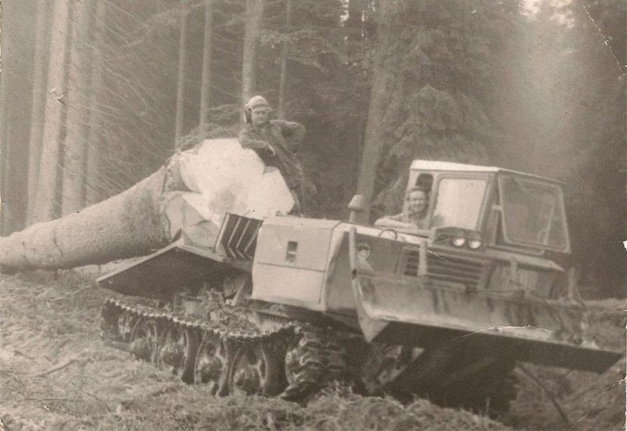 Historie Lesy Kliment 1